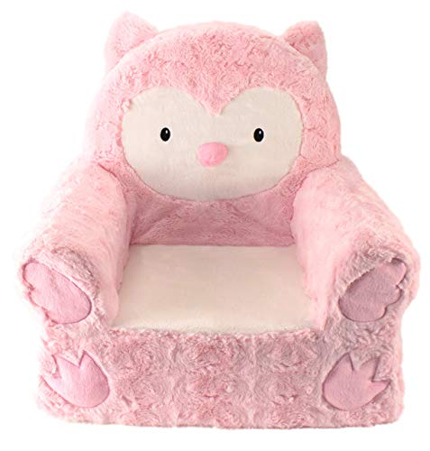 Owl Gifts for kids Pink Children's Chair