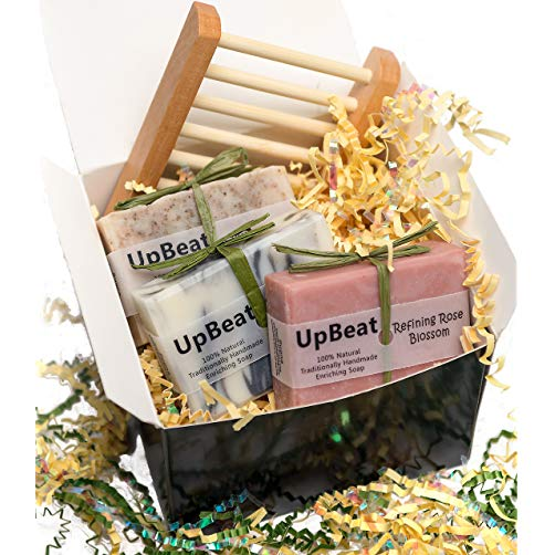 Welcome to the new neighborhood gift 11. Natural Gift Set-Coffee Exfoliating Soap