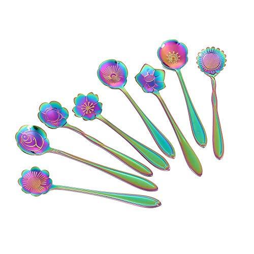 Welcome to the new neighborhood gift 12. Flower Spoon Set