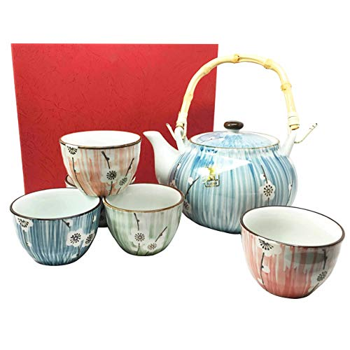 Welcome to the new neighborhood gift 15. Japanese Ceramic Tea Pot and Cups Set