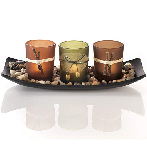 Welcome to the new neighborhood gift 6. Natural Candlescape Set