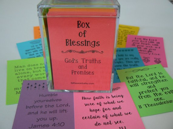 Shop for the perfect sunday school teacher gift Box of Blessings