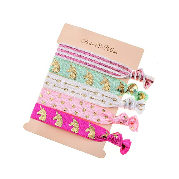 Cheap Unicorn Gifts Hair Ties