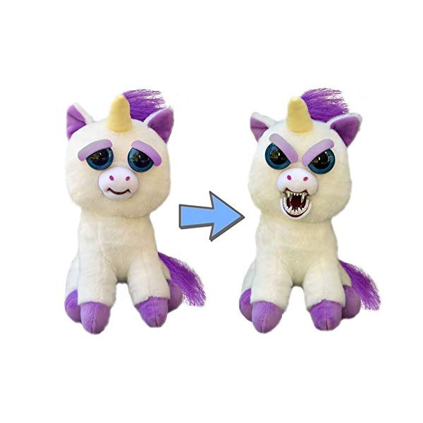 Funny Unicorn Gifts Feisty Pets Glenda Glitterpoop the Unicorn that Turns Feisty with a Squeeze