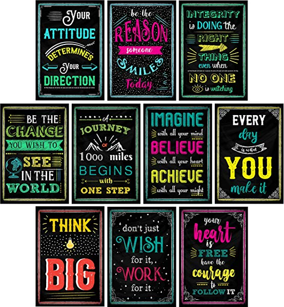 Gifts for Sunday School Teacher Motivational Posters for Classroom