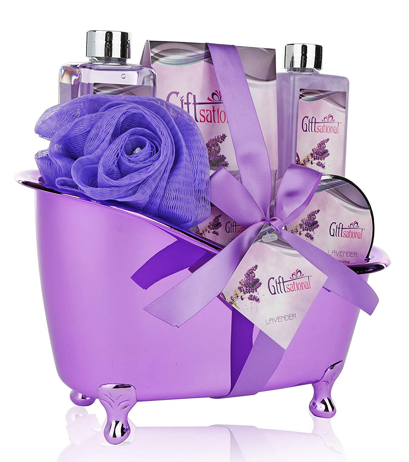 One Year Anniversary Gifts for Girlfriend Spa Gift Basket
