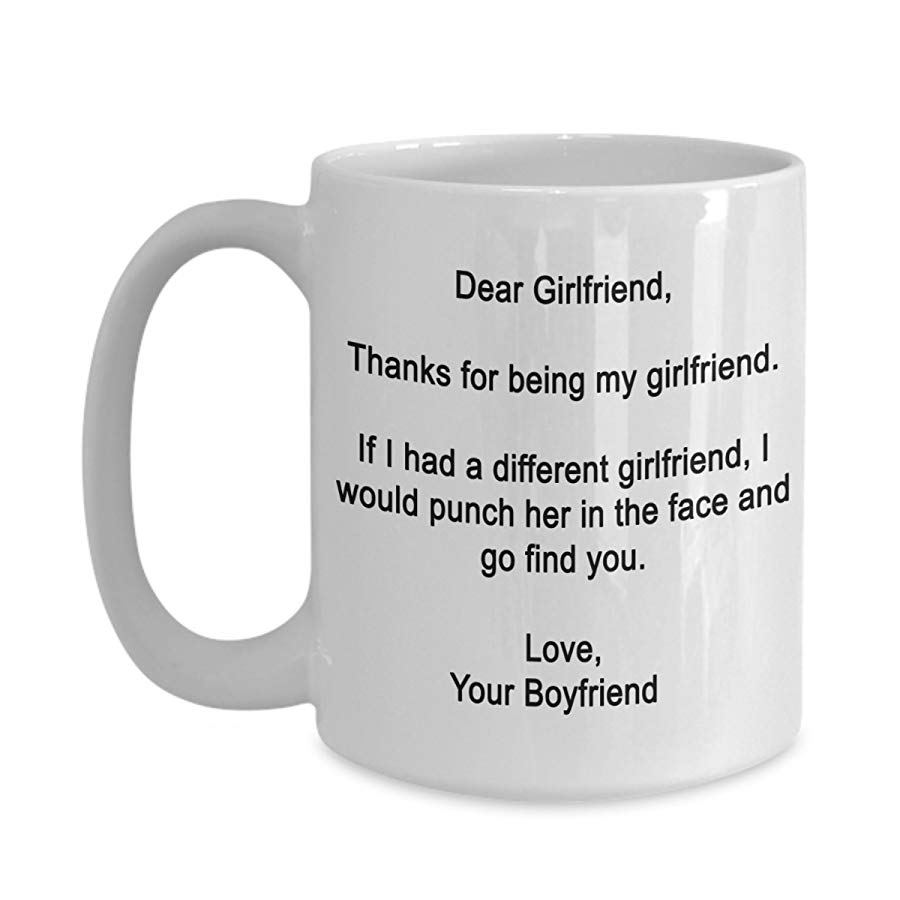 One Year Anniversary Gifts for Girlfriend Coffee Mug