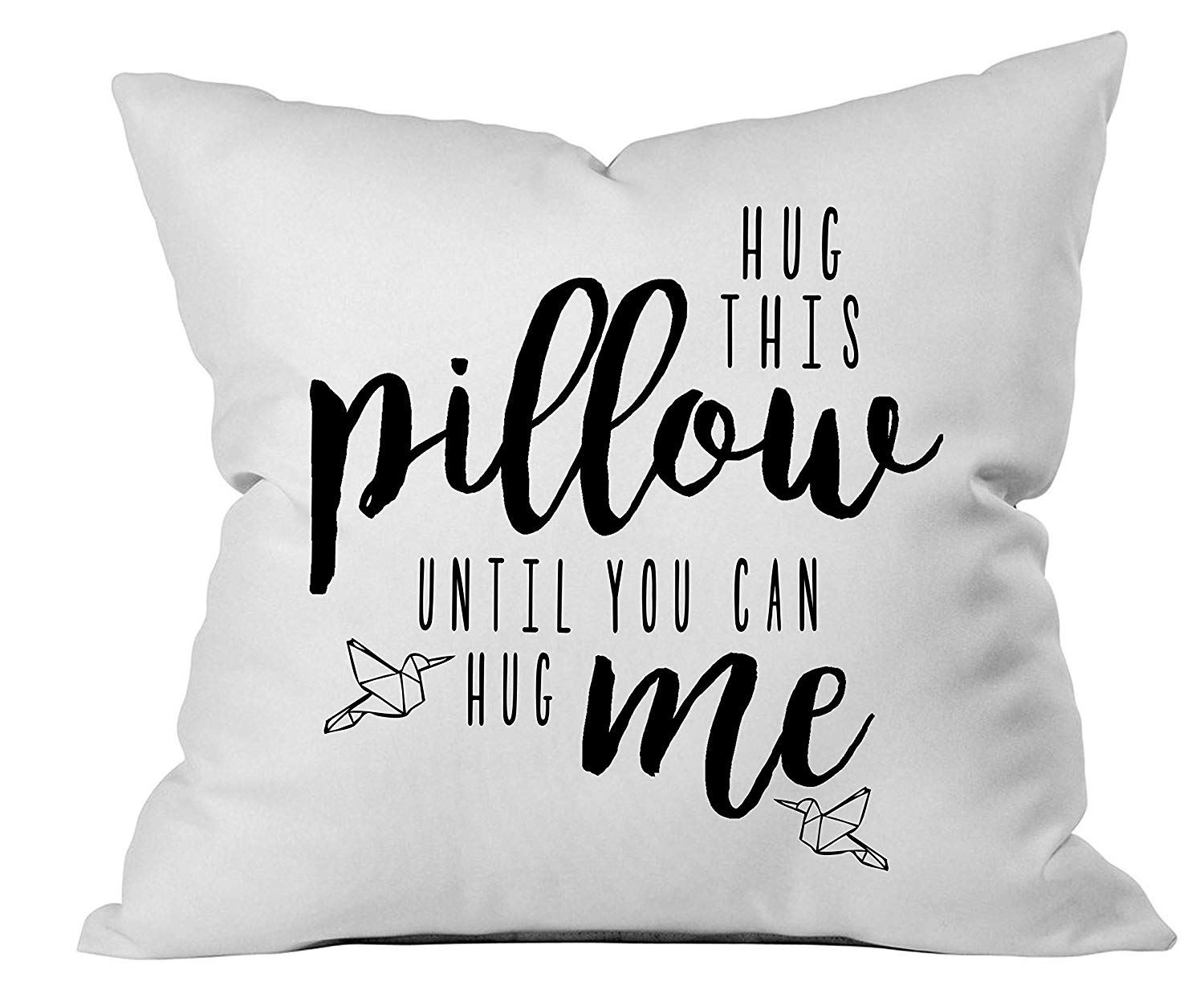 One Year Anniversary Gifts for Girlfriend Sentimental Pillow Cover