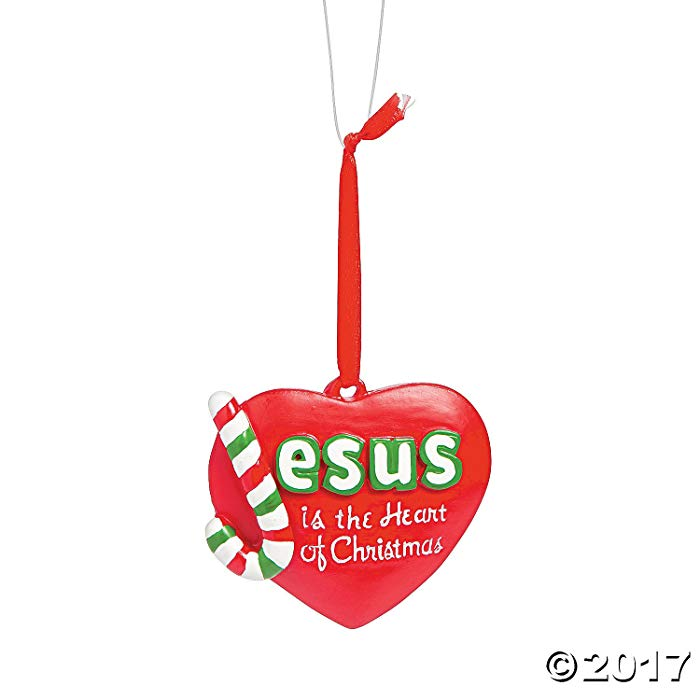Themed Gifts for Sunday School teachers Jesus Ornament