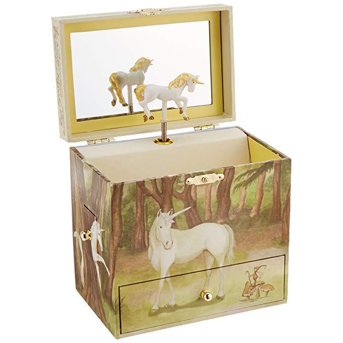 Unicorn Birthday Gifts Music Jewelry Box