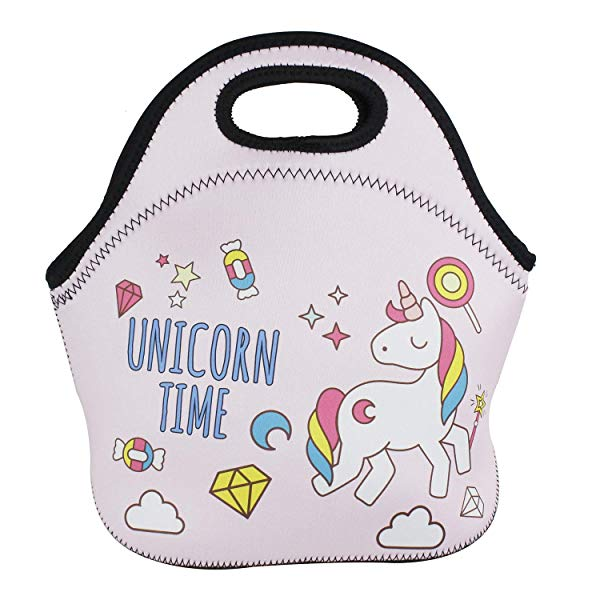 Unicorn gifts for girls School Picnic Thermal Carrying Gourmet Lunchbox