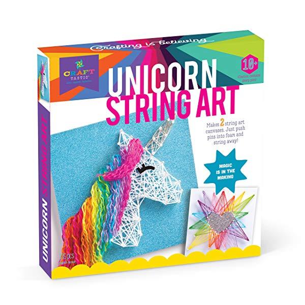 Unicorn gifts for girls String Art Kit