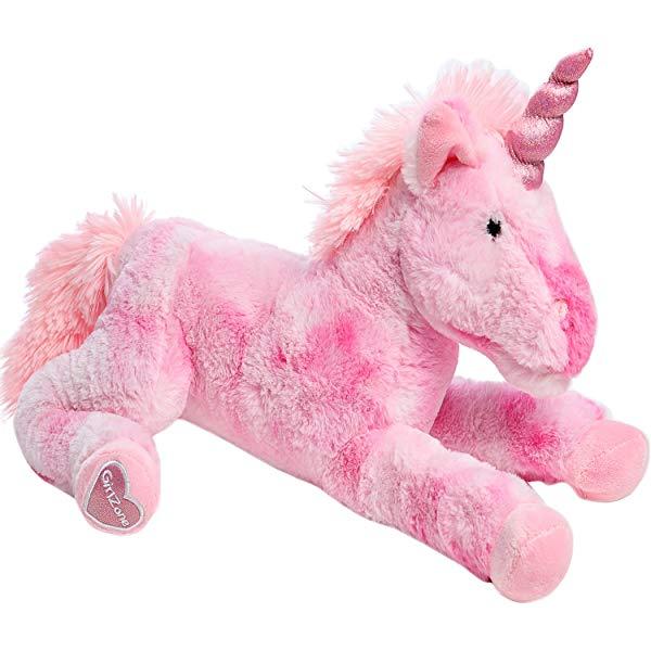 Unicorn gifts for girls Pink Plush Stuffed Fluffy TOY