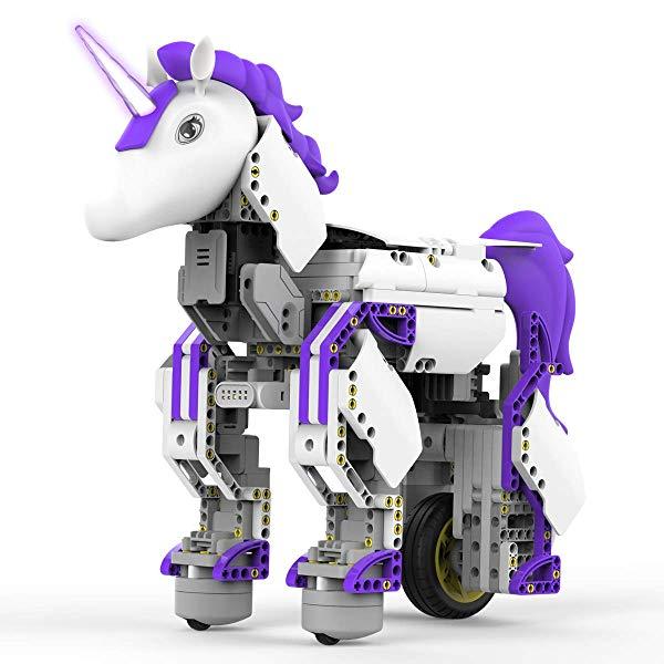 Unicorn gifts for girls Robot Mythical Series: Unicornbot Kit-App-Enabled Building and Coding Stem Learning Kit