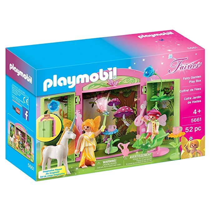 Unicorn gifts for girls Fairy Garden Play Box