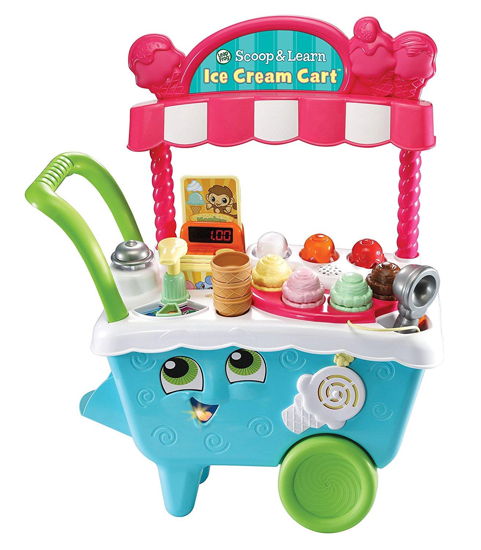 "Ice cream themed gift idea: ""Scoop and Learn Ice Cream Cart"""
