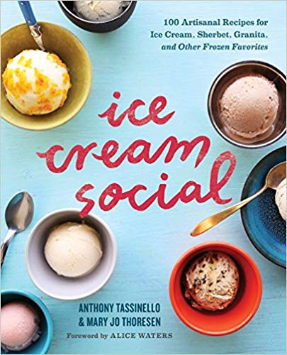 Ice cream gift ideas: 100 Artisanal Recipes for Ice Cream