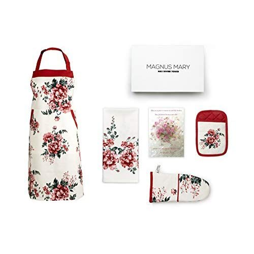 Gift for mom Beautiful Kitchen Linen Set