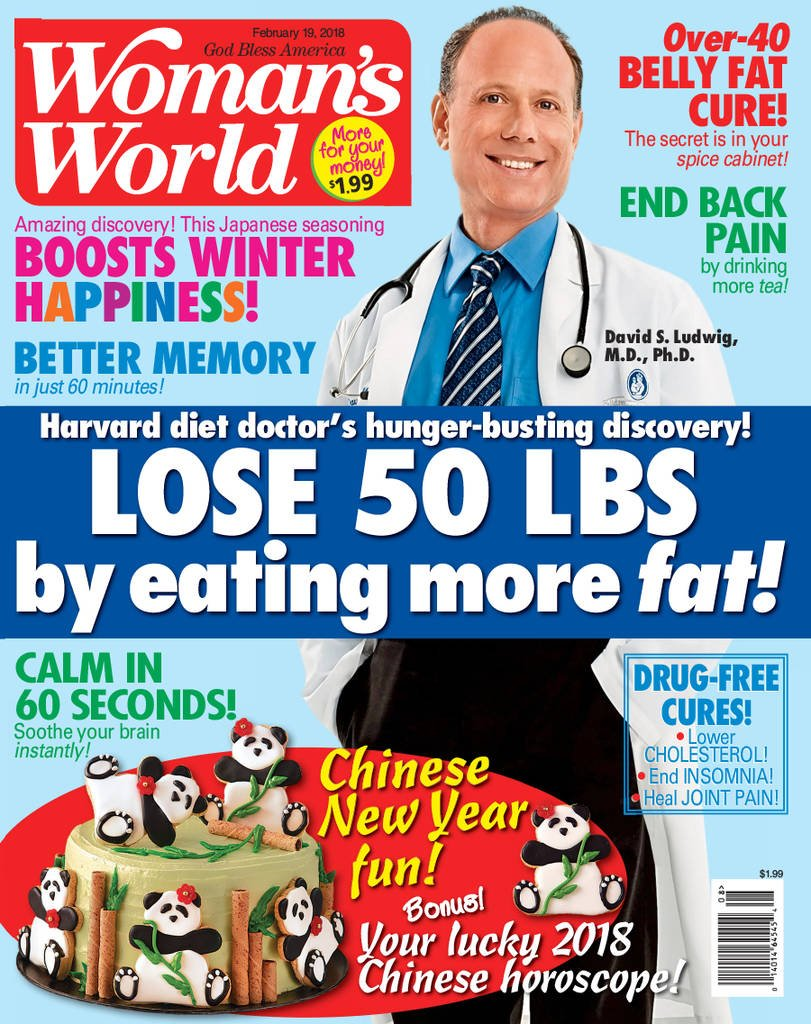 Mother 50th birthday gift Woman's World Magazine Subscription