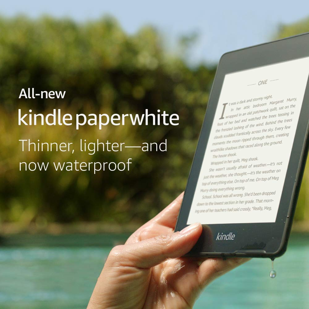50th bday gift Kindle Paperwhite