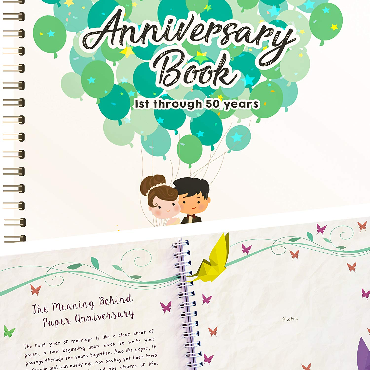 4 years anniversary gift ideas for couples Wedding Anniversary Book
