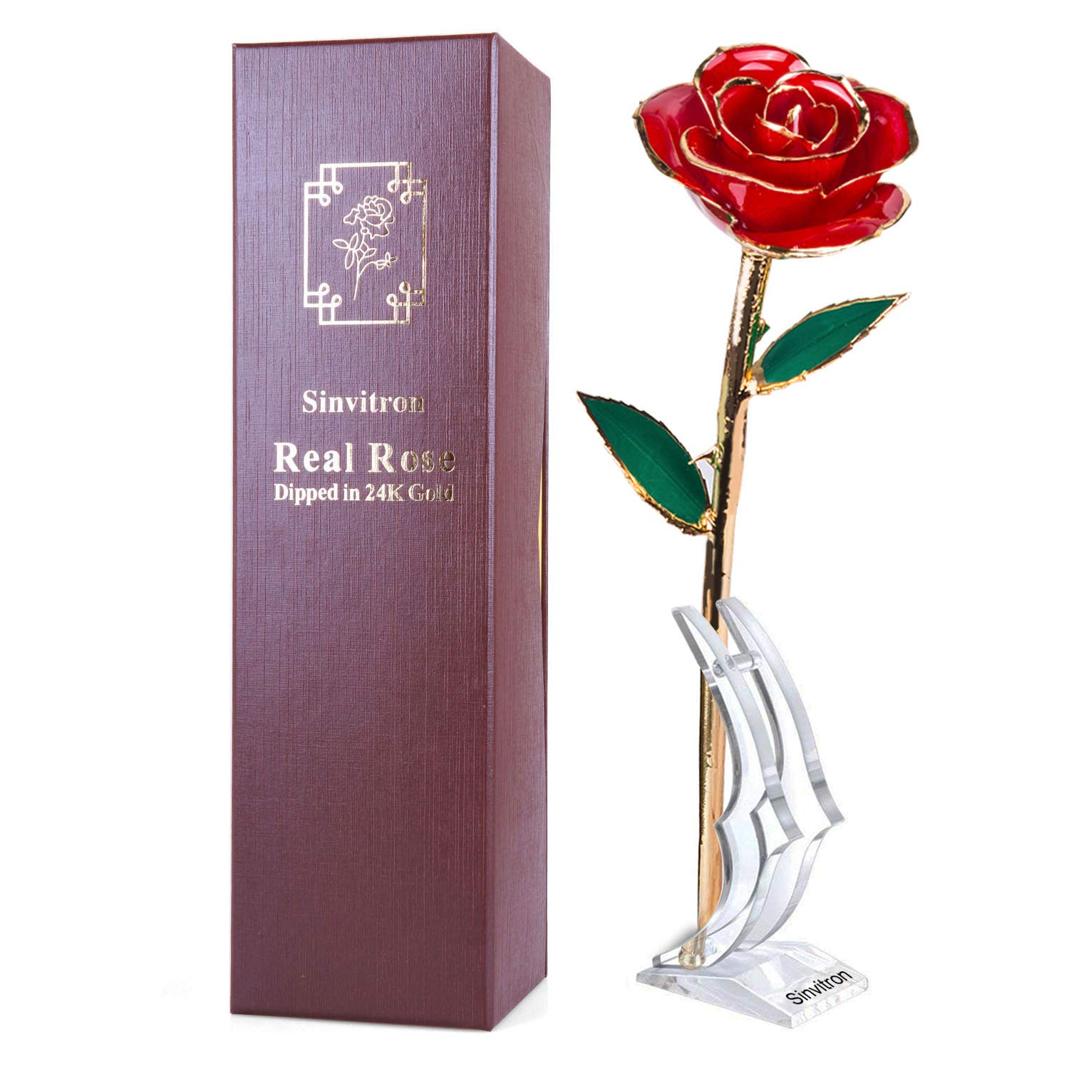 4th Anniversary Gifts for Her Golden Rose 71d5df48e
