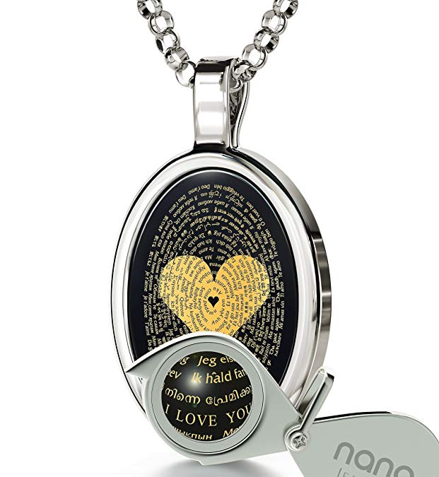 4th Anniversary Gifts for Her White-Gold Romantic Necklace