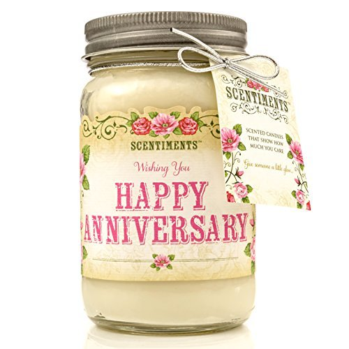 4th Anniversary Gifts for Her Scent Candle
