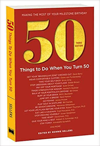 moms 50th birthday gift 50 Things to do When you Turn 50 Book
