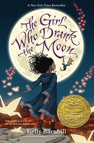 Book: The Girl Who Drank the Moon - this is the perfect gift for every teen girl who like to read