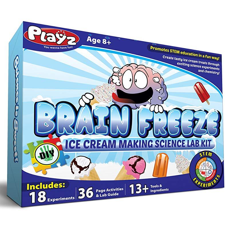 """Brain Freeze Ice Cream Making Science Kit"""