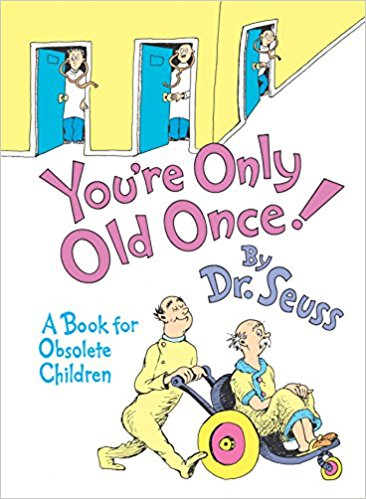 """Funny 40th bday gifts """"You're Only Old Once"""" Book"""