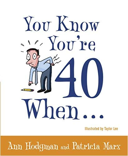 Funny 40th Birthday Gifts