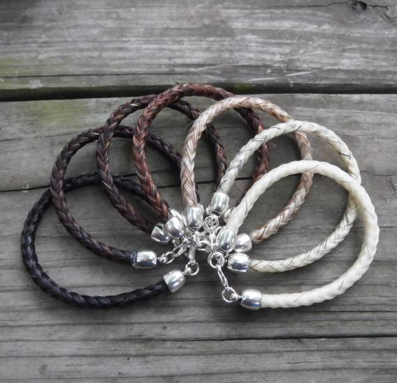 Gift Ideas for Horse Lovers and Equestrians Horse Hair Bracelet
