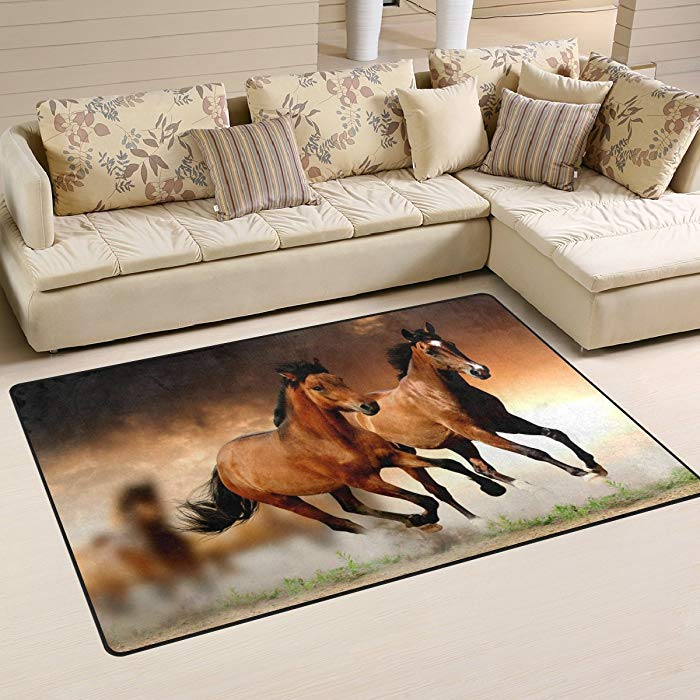 Gift Ideas for Horse Lovers and Equestrians Non-Slip Carpet Mat