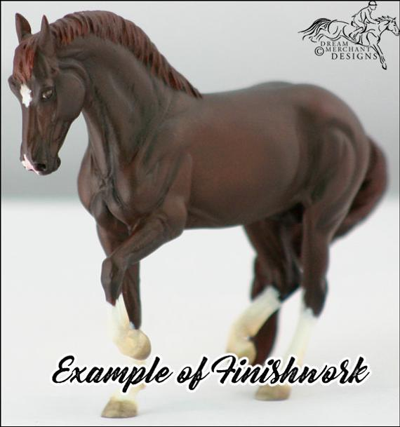 Gift Ideas for Horse Lovers and Equestrians Custom Model Horse Portrait