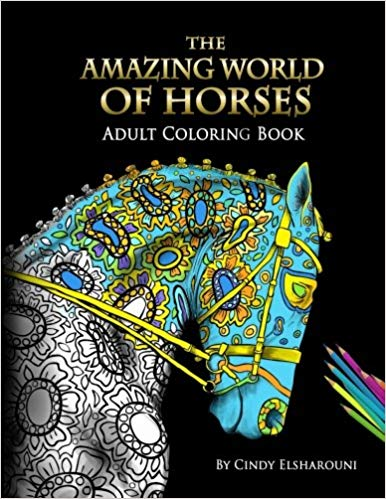 Gift Ideas for Horse Lovers and Equestrians Horse Adult Coloring Book