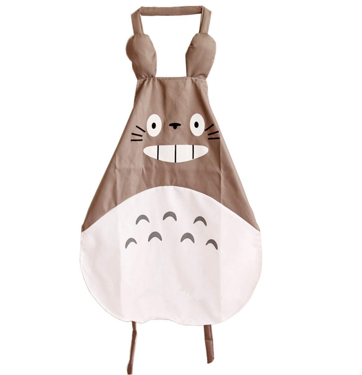 Gift Miyazaki Totoro Gray Apron
