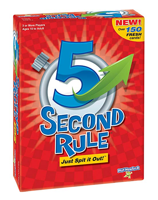 Gifts for 10 year old girls 5 Second Rule Game