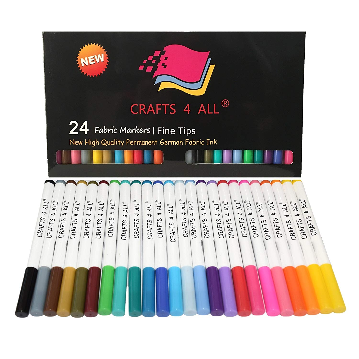 Creative gift for 10 year old girls Fabric Markers