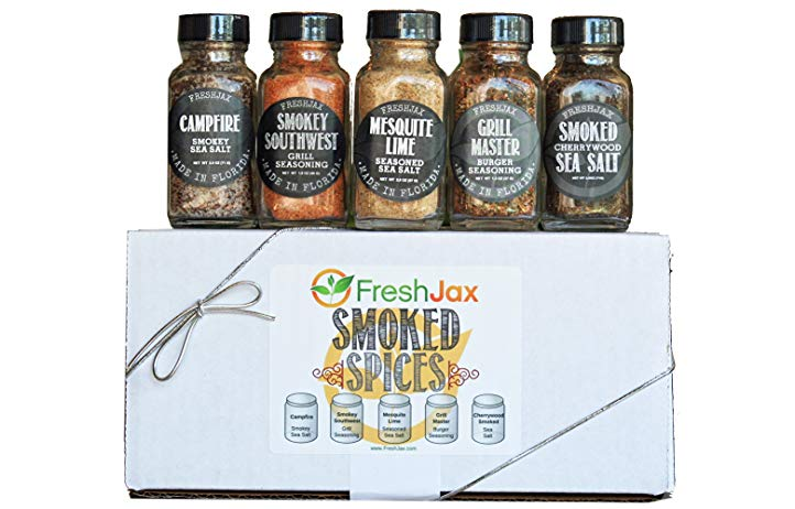 Gifts for Culinary Students Smoked Spices Set