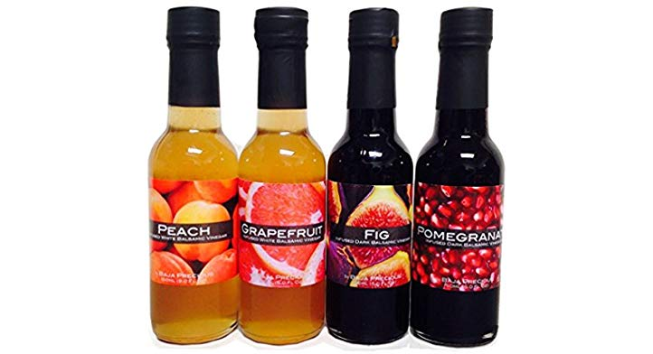 Gifts for Culinary Students Balsamic Vinegar Quartetto