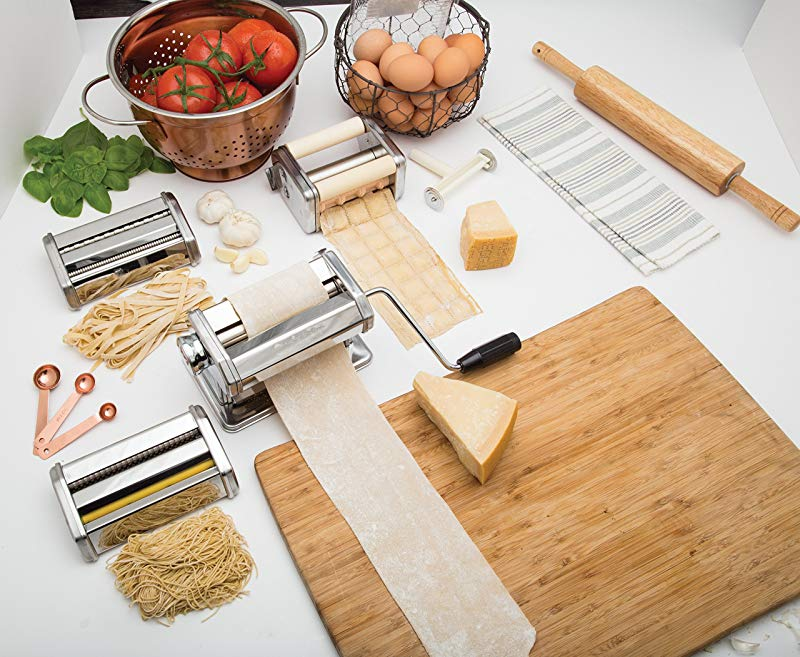 Gifts for Culinary Students Deluxe Pasta Maker Set