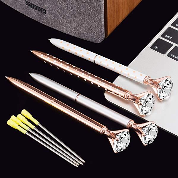 Gifts for secretaries Diamond Ball Point Pens