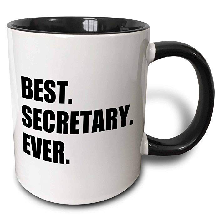 Gifts for secretaries Best Secretary Ever Mug