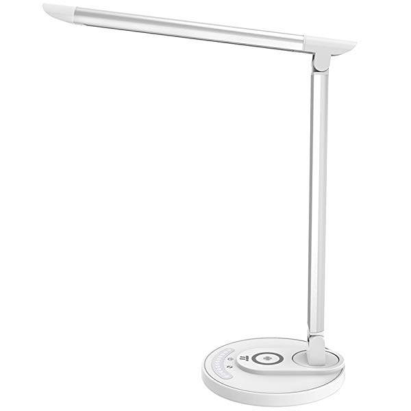 Gifts for secretaries led desk lamp with wireless charging