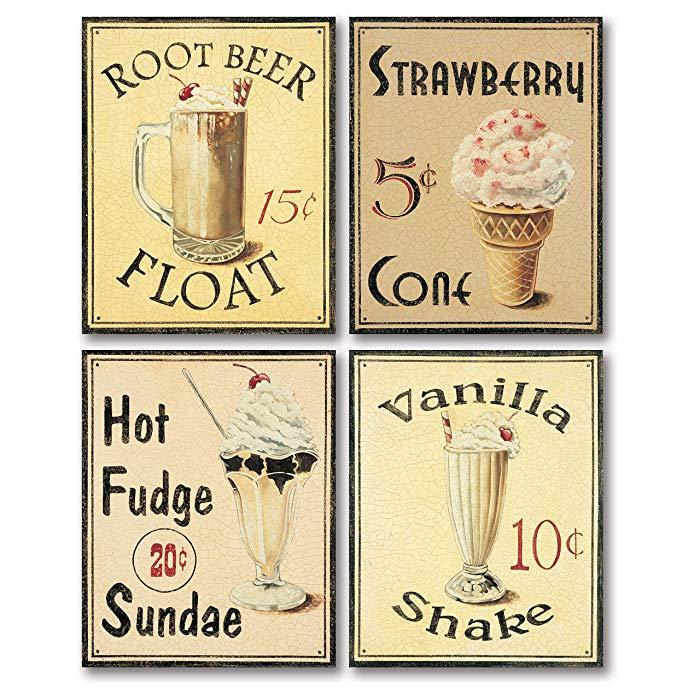 Ice cream gift ideas: Poster art