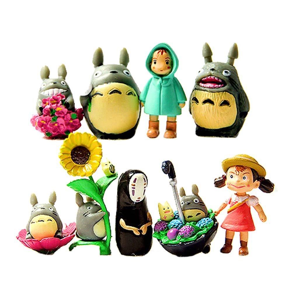 My Neighbor Totoro Figure Hayao Miyazaki PONYO Spirited Away Anime Models
