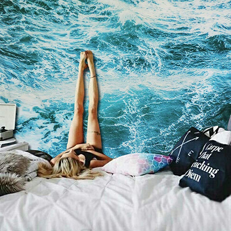 Ocean gifts Wave Wall Tapestry