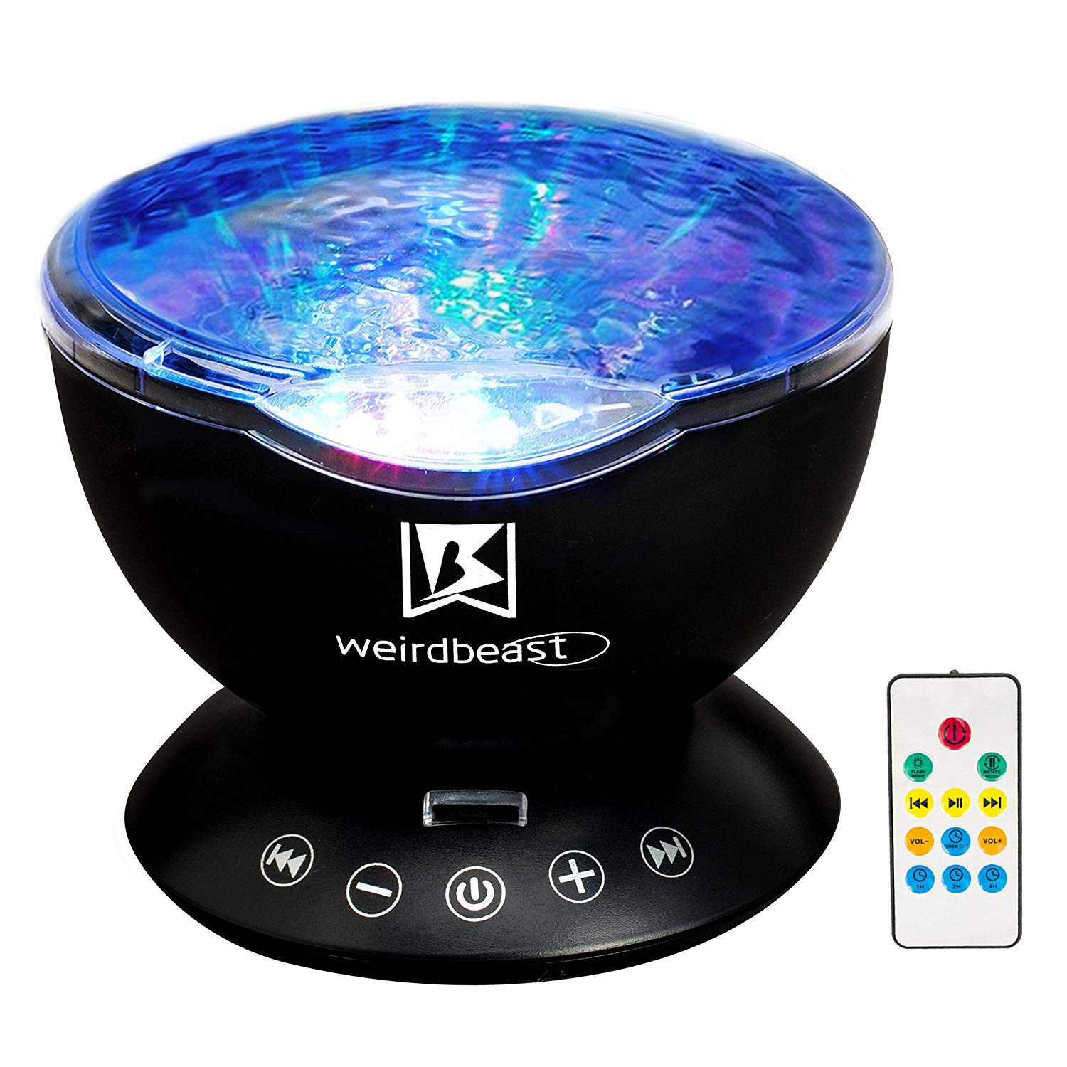 Ocean gifts Wave Ceiling Projector